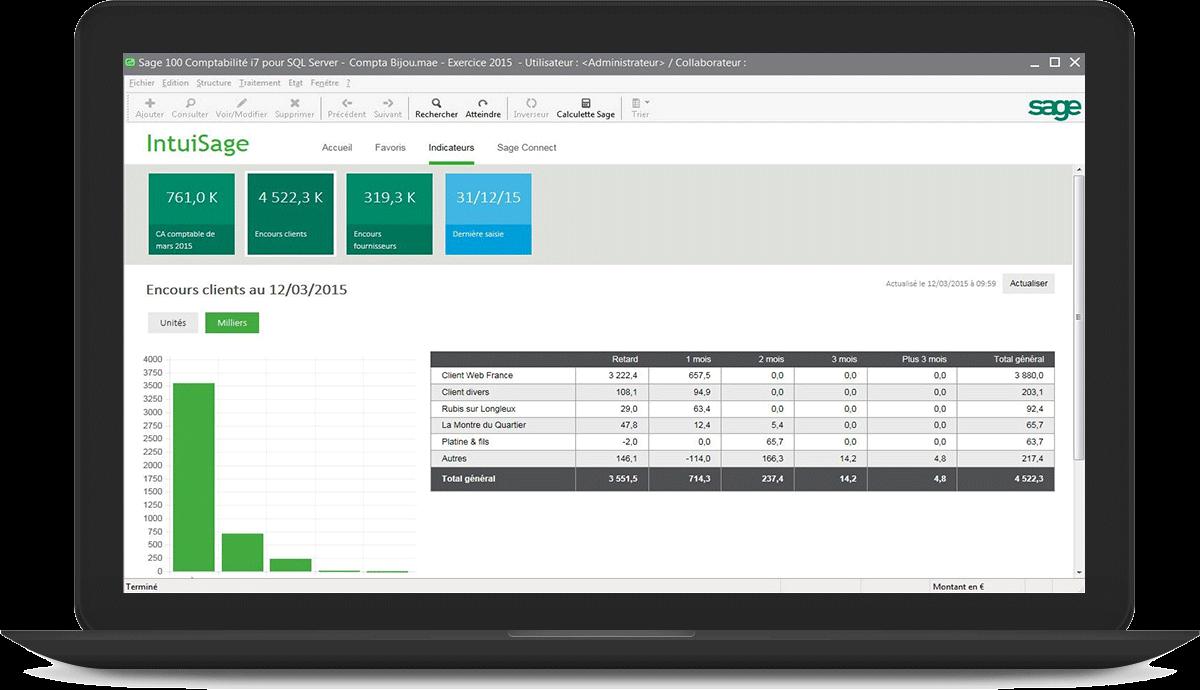 Sage 100cloud Entreprise comptabilité